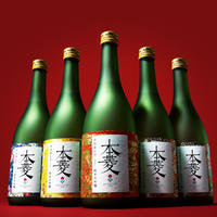 【2019/720ml/純米大吟醸・本菱5色ラベルセット】<ご縁を喜び、ご縁に感謝する吟醸酒>