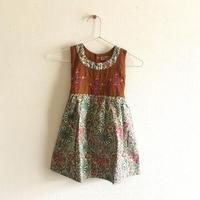 女の子  刺繍ワンピース