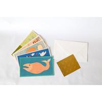 Waterlife   Handmade Card   Tara Books
