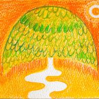 5/12ホロスコープーアート:図太い大木