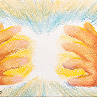 5/14ホロスコープアート:根源的な存在からの愛