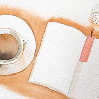 4/21ホロスコープアート:あなたの豊かな時間を、文字や本に表しましょう