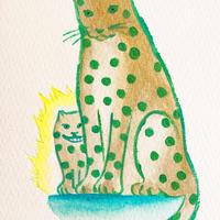 6/11ホロスコープアート:お母さんヒョウ過保護やで