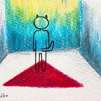 4/28ホロスコープアート:言葉をインプットする日