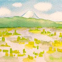 4/14ホロスコープアート:開き直って視界を広げる
