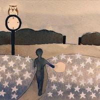 4/12ホロスコープアート:星の公園で想像の世界に浸る