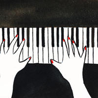4/24ホロスコープアート:即興演奏、観客との共同作業