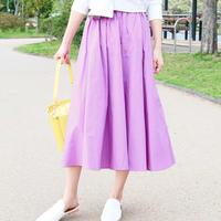 ウエストリボンギャザースカート