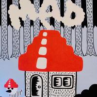 複製画パネル「Mad House In The Forest」#019 キャンパス (F15)