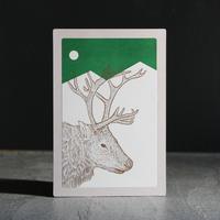 トッパンシール  + ポストカード / トナカイ