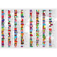 ついつい眺めてしまうノートシリーズ(国旗と国名と首都)