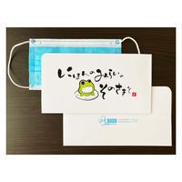 【3枚入り】抗菌紙使用のマスクケース(ワンポケットタイプ)