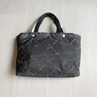 Chanel / Old travel line nylon hand bag / 2006108