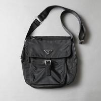 PRADA / Logo fitting nylon belt shoulder bag / 2006097