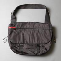 PRADA /   Sport line nylon big flap shoulder bag / 2006079