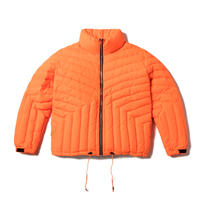 "E.T.R. PUFF JACKET (SECURITY ORANGE  ""RIP NYLON"")"