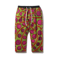 AFRICAN CHILLIN' CROPPED TROUSERS