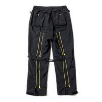 RAVERS NYLON BONDAGE PANTS(BLACK)