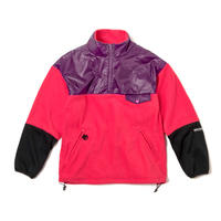 WIND PROOF FLEECE ANORAK(SHOCKING PINK)