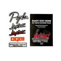ENJOY STAY HOME DIY IRON PATCHES PACK (ONLY PATCHES)