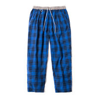 PLAID PAJAMAS EASY TROUSERS