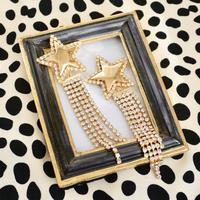star bijou earring