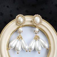 chandelier pearl earring
