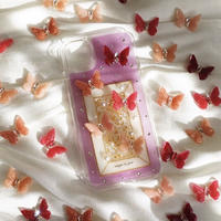 butterfly iPhone case (PINK)