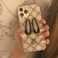 ballet shoes iPhone case (BLACK)