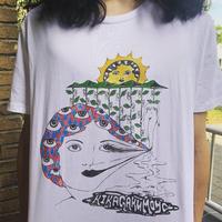 KIKAGAKU MOYO WARP FACE T shirts