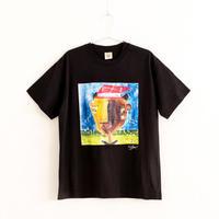 【長坂真護】Tシャツ「I know any knowledge」(オーガニックコットン)