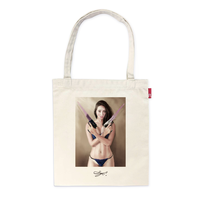 MAGO×ROOTOTE トートバッグ-M 6 【It will Be World Peace, If the Guns Have Covered By Condoms.】