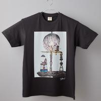 【長坂真護】Tシャツ「内界は外界であり、外界は内界であって、内界は外界である」(オーガニックコットン)