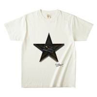 MAGO×FELIC オーガニックTシャツ 9  【The Plastic BoyBroken Music Player In The Black Star】