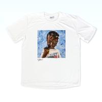 MAGO×BRING T-shirt【Abidu with a broken gun】