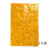 【業務用】宮崎県産 つぼ漬きざみ1kg  5袋セット