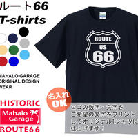 Route66 Tshirt  name print ok!