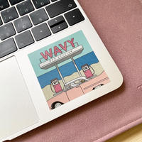 WAVY sticker