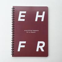 【再販!!】EHFRノートブック