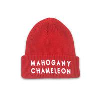 """""""MAHOGANY"""" BEANIE (RED)"""