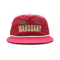 5PANEL NYLON BEACH CAP (CALI RED)