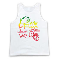 """TAGGING"" TANK TOP (RASTA)"