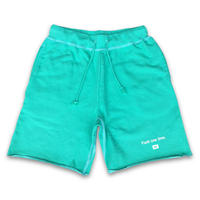 """F**k one time"" SUMMER RESORT SHORT SWEAT PANTS  (MOJITO GREEN)"