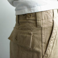 original cotton twill/baker pants:beige/size1・2