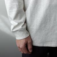 combed yarn /enbroidery mark tshirt/oatmeal/size2