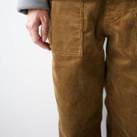 hard finish cotton corduroy pants/tannum