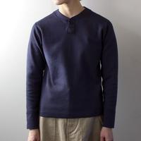 miranoribu cotton/ henley neck cutsew /navy/size1&2