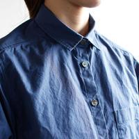 typewriter standard shirt / indigo blue