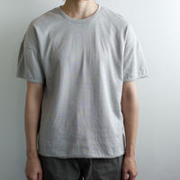 dual-layered fabric tshirt/light gray
