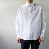air tumbler cotton/modest stitch shirt/white/size2(MAN)